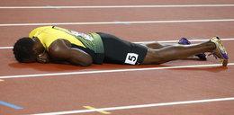 Usain Bolt nie ukończył ostatniego biegu