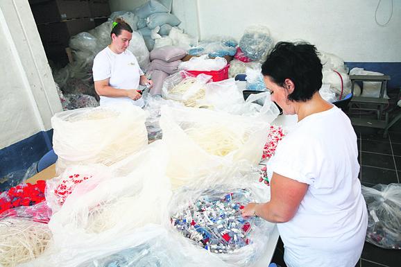 Godišnje recikliraju 1.000 tona plastike i 800 tona kartona