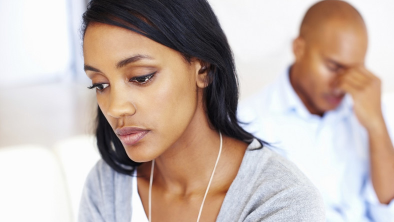 Unhappy woman in a relationship [Credit: Shutterstock]
