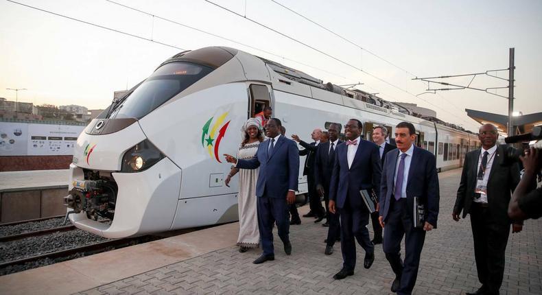 14 janvier 2019 | Inauguration du Train express regional (TER) par le président Macky Sall