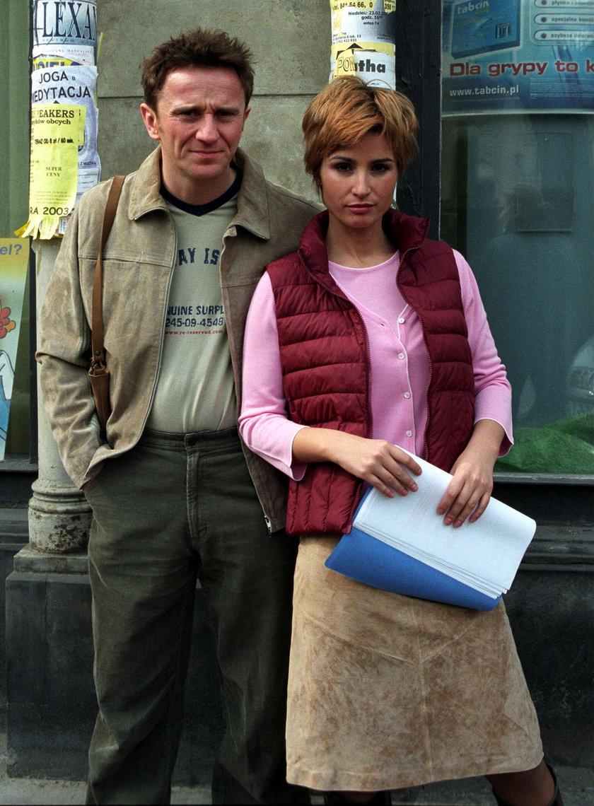 Paweł Wilczak i Joanna Brodzik