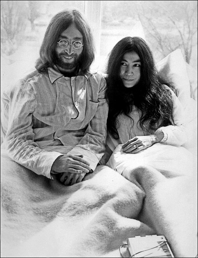 Joko Ono i Džon Lenon 1969.