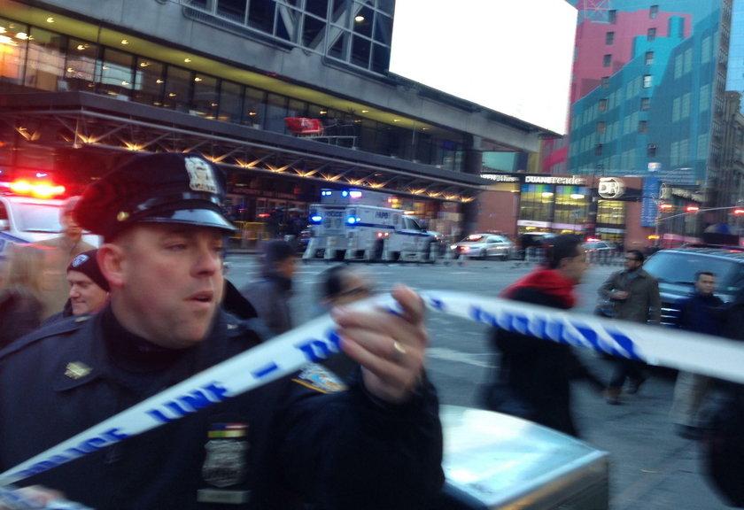 Eksplozja w Nowym Jorku. Nagrano moment wybuchu!
