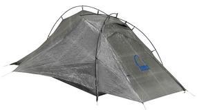 Namiot odchudzający plecak i portfel podróżnika
