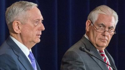 US and China officials meet under cloud