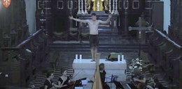 Półnagi mężczyzna tańczył na ołtarzu w Tyńcu. Nowe fakty w sprawie