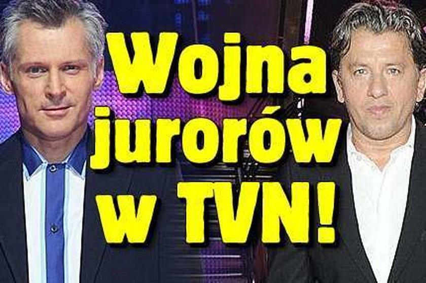 Wojna jurorów w TVN