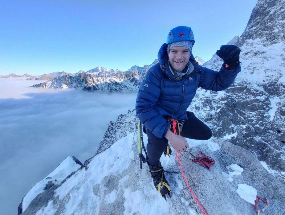 Pokonał najdłuższy szlak górski w Polsce, teraz chce wbiec na Mont Blanc