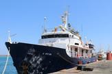 Brod, migranti, Defend Europe, EPA -STR