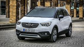 Tani Opel Crossland X - ale dopiero za rok