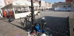 Miasto tonie w śmieciach