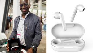 Meet the Ghanaian entrepreneur who has developed wireless earbuds that can translate 40 languages
