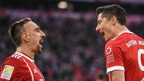 Bayern - Borussia: błąd Łukasza Piszczka, drugi gol Roberta Lewandowskiego