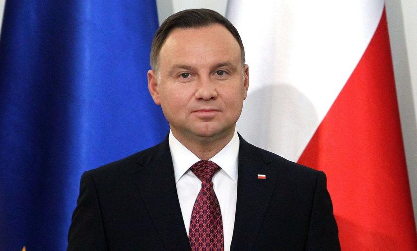 Prezydent Andrzej Duda o wizycie Merkel w Polsce: Bardzo mi przykro.