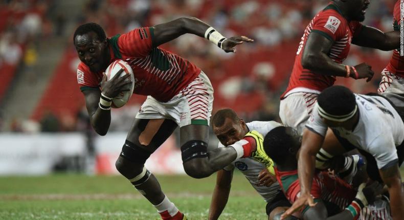 Kenya 7s in action