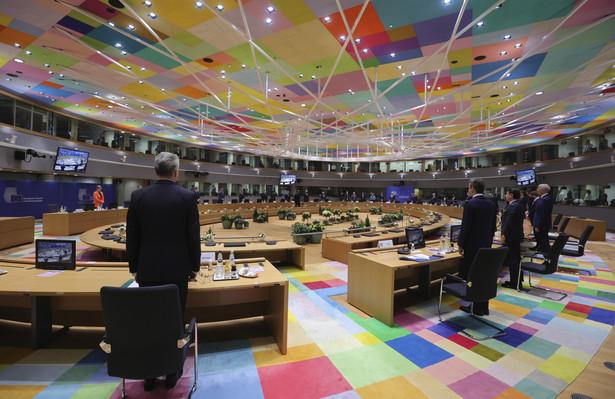 Szczyt UE. Sala obrad