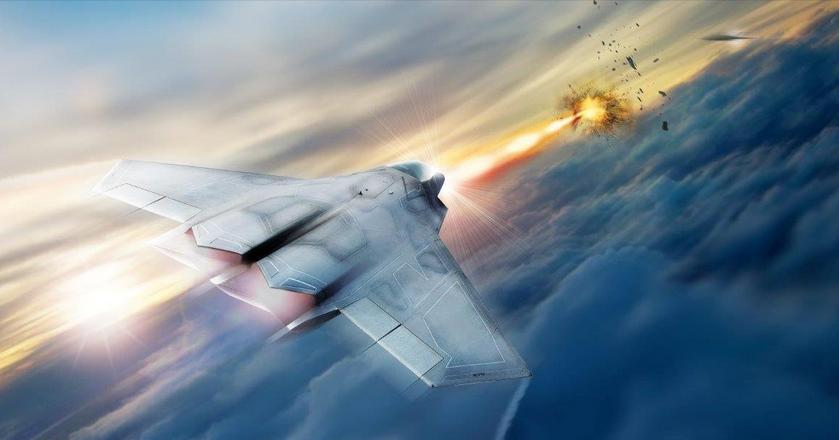 Lasery na pokładzie myśliwców pomagałyby w obronie przed pociskami ziemia-powietrze i powietrze-powietrze