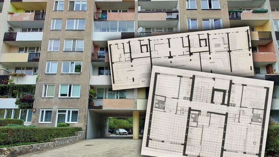 Blok szwedzki w Nowej Hucie w Krakowie