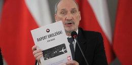 Macierewicz chce wznowienia prac komisji Millera