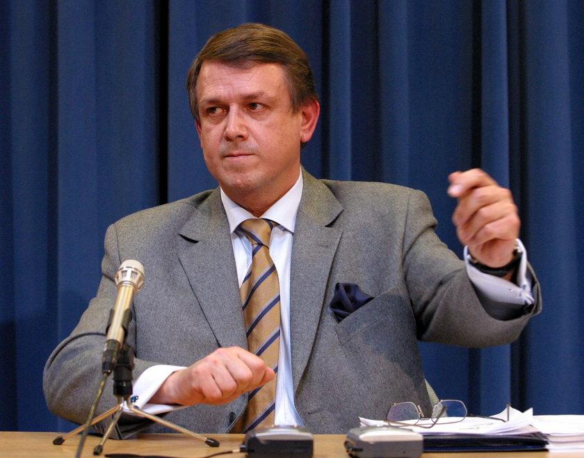 Sławomir Cytrycki, doradca Marka Belki, prezesa NBP , który zapłaciłza kolację u Sowy.