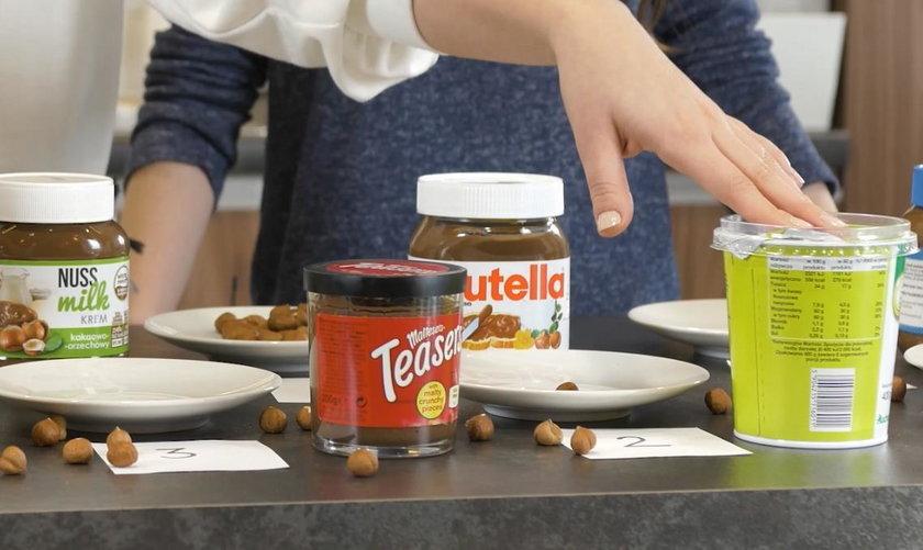 test kremów czekoladowych