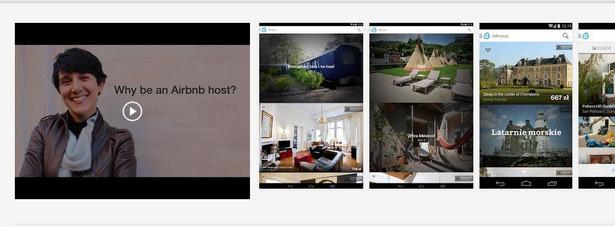 Airbnb Świetna aplikacja dla wszystkich, którym znudziły się już noclegi w smutnych hotelach. Airbnb daje nam dostęp do ponad 450 000 ofert wakacyjnego wynajmu domów i mieszkań w ponad 34 000 miast. Aplikacja przyda się nie tylko tym, którzy miejsca na nocleg szukają, ale również osobom, które chciałyby delikatnie podreperować budżet i wynająć swoje mieszkanie turystom.