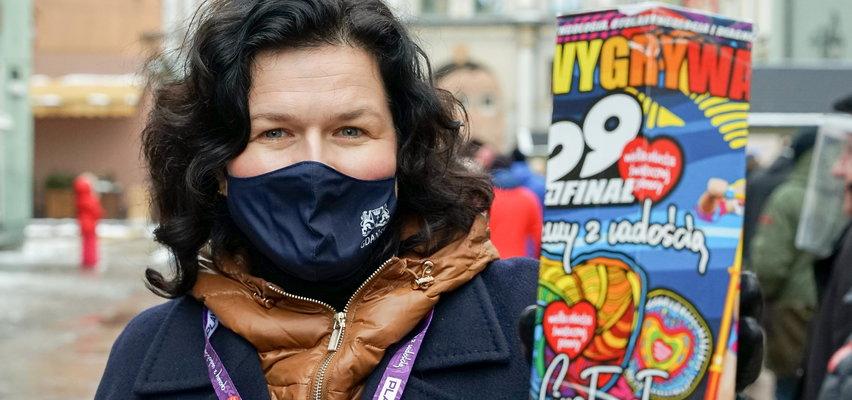 Prezydent Gdańska była wolontariuszką WOŚP. Zobacz, ile zebrała!