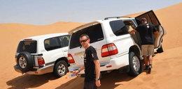 Adam Małysz na pustyni! Da radę? FOTY
