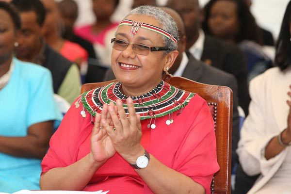 Kenya First Lady Margaret Kenyatta during a past event
