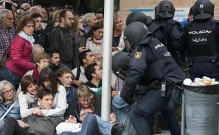 Władze Katalonii: 337 osób rannych w wyniku działań policji