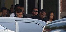 Ciotka córki Whitney Houston wyrzucona z pogrzebu!