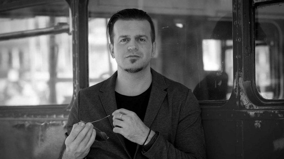 Marcin Wrona na festiwalu w Gdyni w 2015 r.