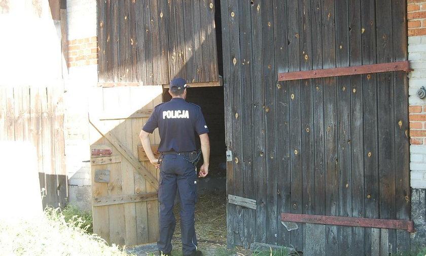 Sołtys Woli Zaradzyńskiej znalazł u sąsiada w stodole ciała dwóch mężczyzn