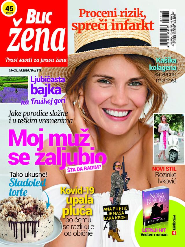 Blic žena naslovna 18 jul