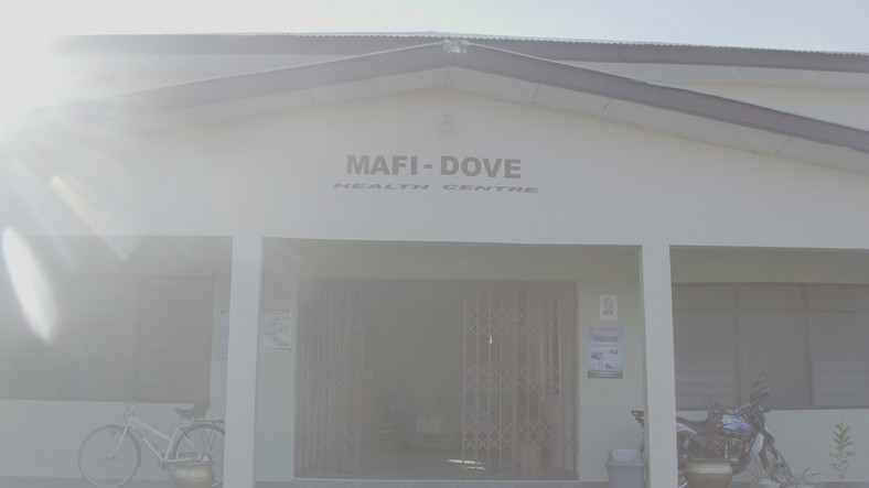 Newly established clinic in Dove, the Ghanaian village where childbirth is a superstitious crime
