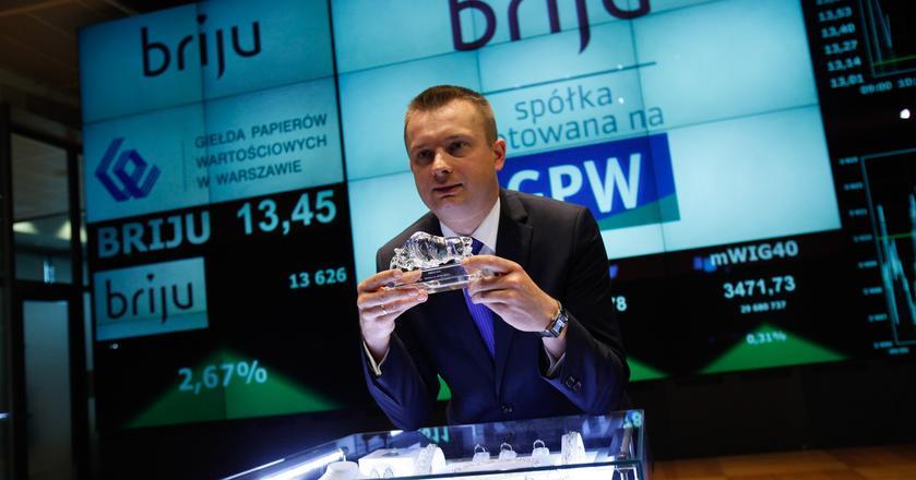 Briju zadebiutowała na GPW w maju 2014 r. Na zdjęciu Przemysław Piotrowski, prezes zarządu
