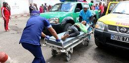 Atak paniki przed meczem. Jedna osoba nie żyje, kilkadziesiąt jest rannych