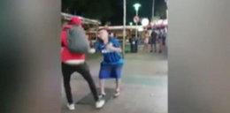 Sprzedawca znokautował turystę. Wstrząsający film!