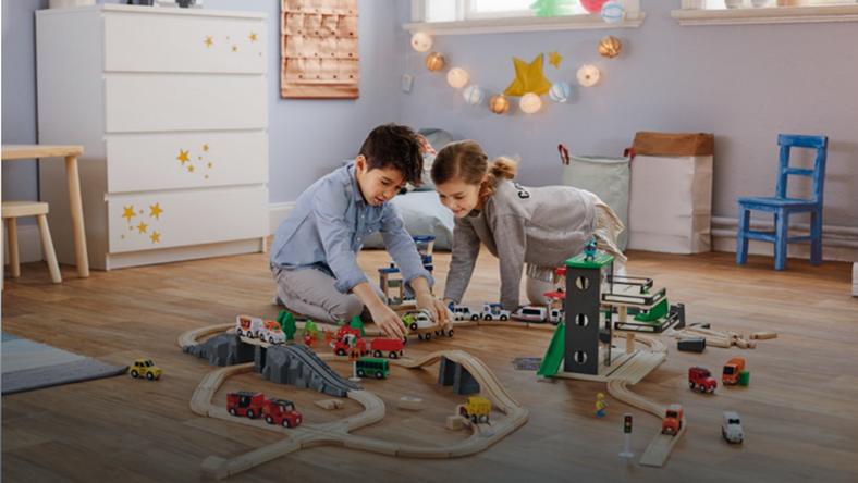 Dla Malych I Duzych Drewniane Zabawki W Lidlu Dziecko