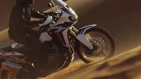 Honda CRF1000L Africa Twin w nowym klipie