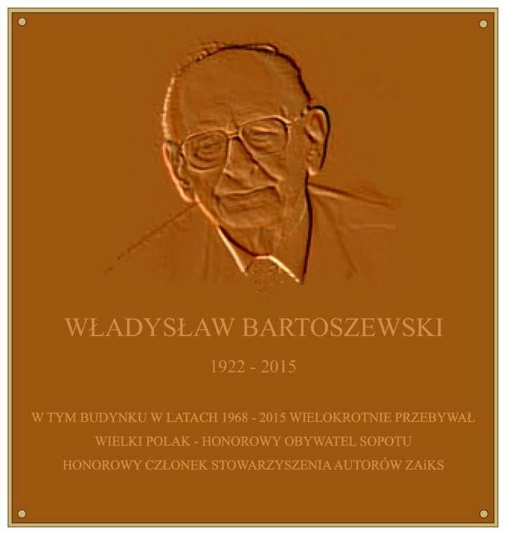 Projekt tablicy, która już za kilka dni pojawi się na budynku sopockiego ZAiKS-u