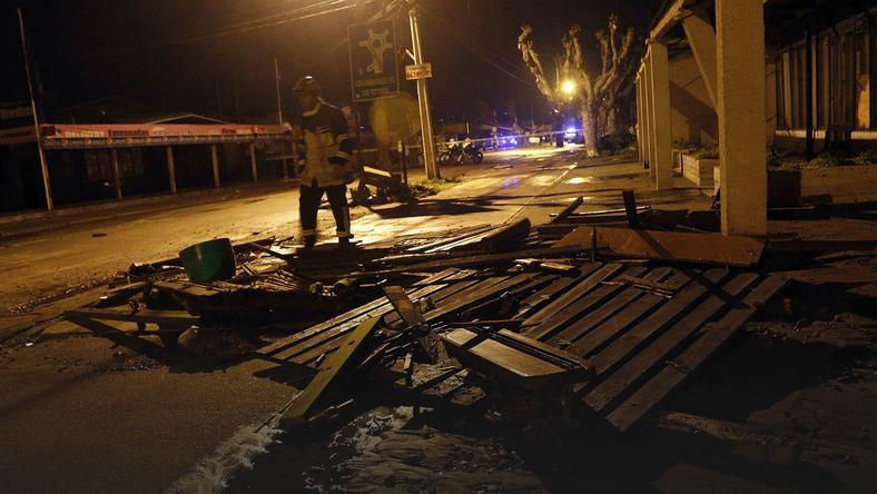 CHILE EARTHQUAKE (Earthquake of 8.3 magnitude strikes Chile)