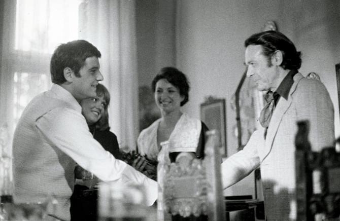 Branko Cvejić, Mirjana Majurec, Jelena Žigon i Rade Marković 1975. u seriji