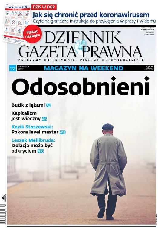 Magazyn DGP okładka 20 marca 2020