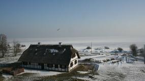 Osada łowców fok w Rzucewie nad Zatoką Pucką