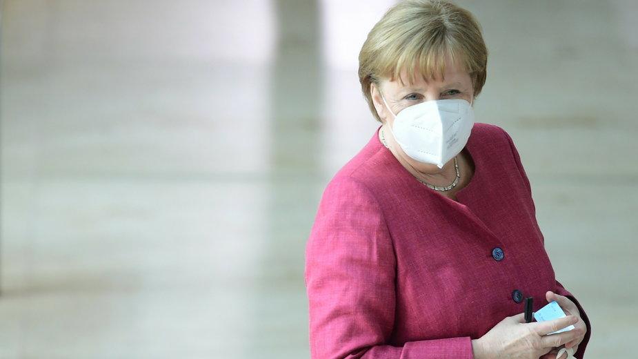 Merkel apeluje o poszerzenie kompetencji UE w dziedzinie ochrony zdrowia