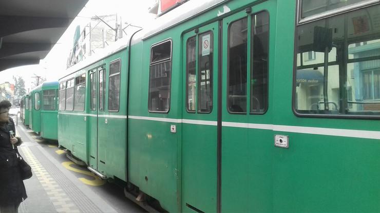 zastoj tramvaji