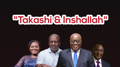 Takashi & Inshallah: Ghana's two biggest political parties fake oblivion around results