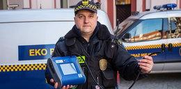 Strażnicy mają nowy sprzęt do smogu