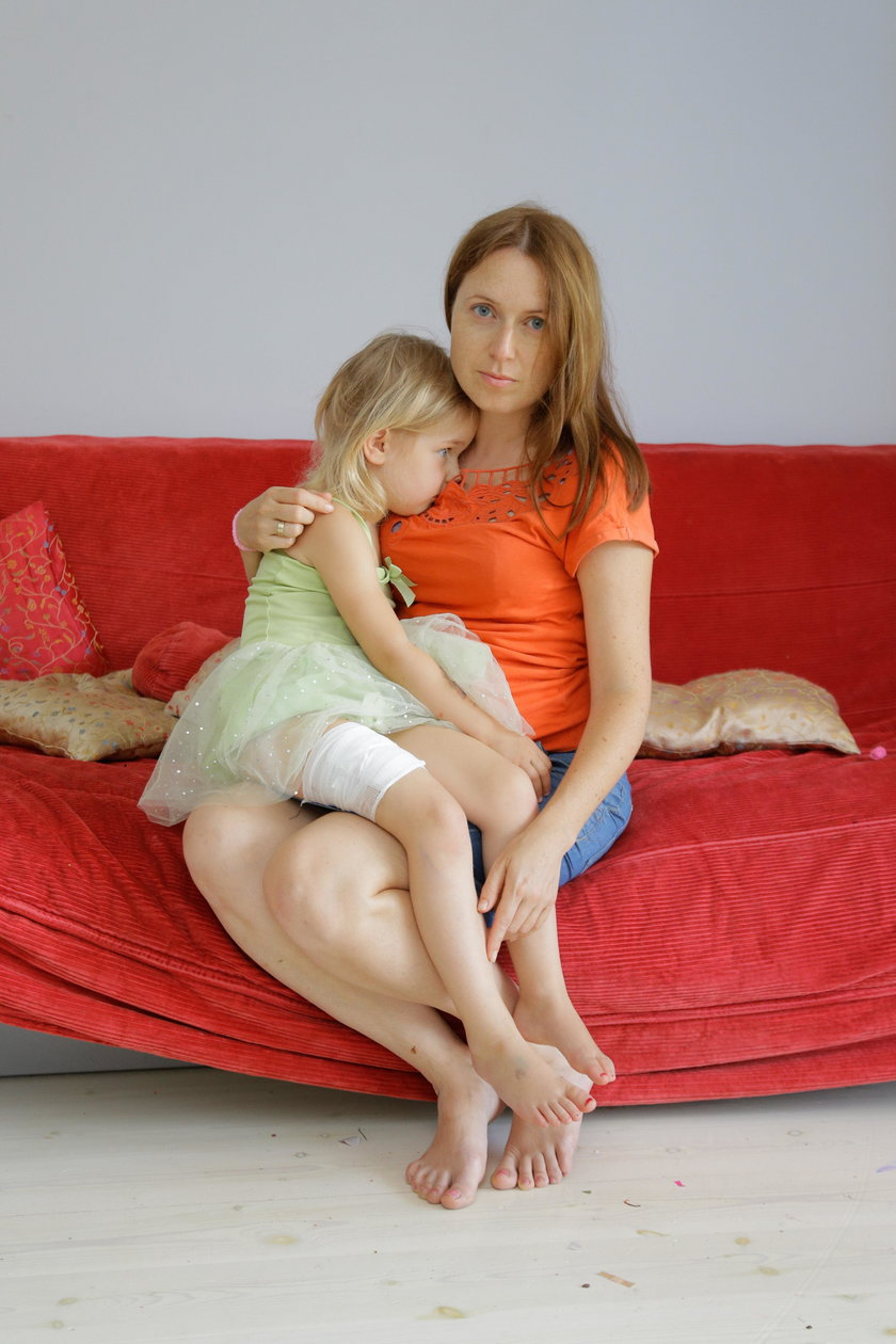 Emilia Chmura (36 l.) z Milenką (6 l.)